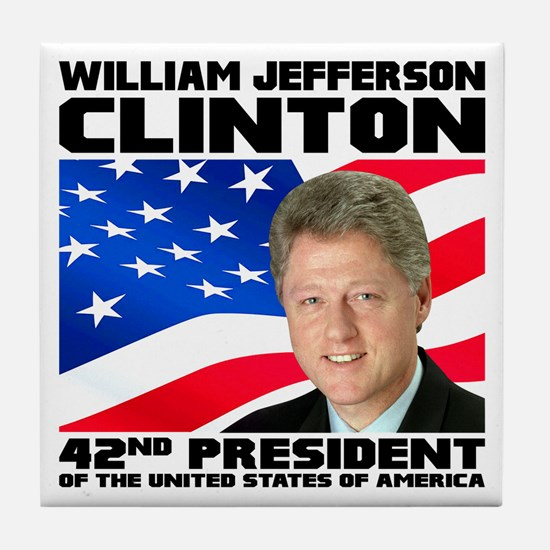 42 Clinton Tile Coaster
