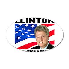 42 Clinton Wall Decal