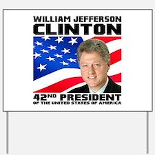 42 Clinton Yard Sign