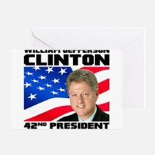 42 Clinton Greeting Card