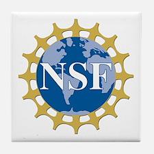National Science Foundation Crest Tile Coaster