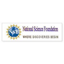 National Science Foundation Crest Bumper Sticker