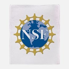 National Science Foundation Crest Throw Blanket