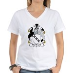 Northcott Family Crest Women's V-Neck T-Shirt