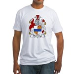Norreys Family Crest Fitted T-Shirt