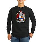 Norreys Family Crest Long Sleeve Dark T-Shirt