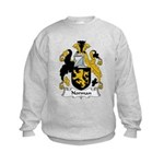 Norman Family Crest Kids Sweatshirt