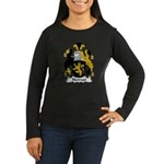 Norman Family Crest Women's Long Sleeve Dark T-Shi