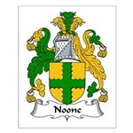 Noone Family Crest Small Poster