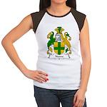 Noone Family Crest  Women's Cap Sleeve T-Shirt
