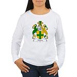 Noone Family Crest  Women's Long Sleeve T-Shirt