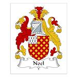 Noel Family Crest Small Poster