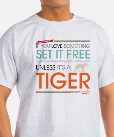Modern Family Phil's-osophy Tiger T-Shirt