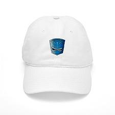 Blue Tiki Head Baseball Cap