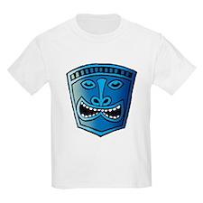 Blue Tiki Head T-Shirt