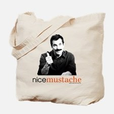 Modern Family Nice Mustache Tote Bag