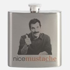 Modern Family Nice Mustache Flask