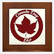 Eh Canada Day Framed Tile