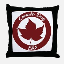 Eh Canada Day Throw Pillow