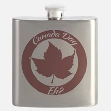 Eh Canada Day Flask