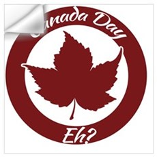 Eh Canada Day Wall Decal