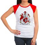 Nightingale Family Crest Women's Cap Sleeve T-Shir
