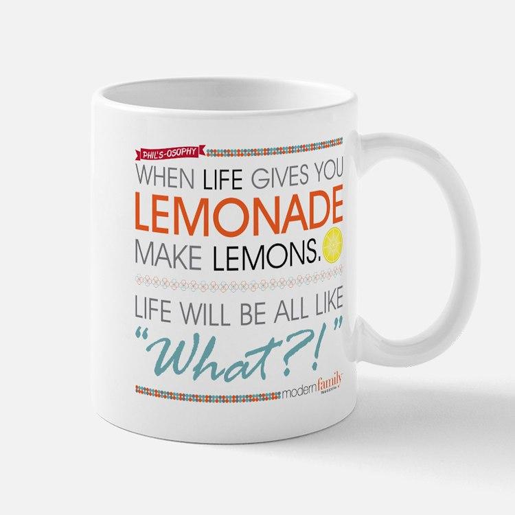Modern Family Phil's-osophy Lemonade Mug