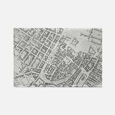 Vintage Map of Stuttgart Germany (1794) Magnets