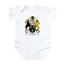 Nicholls Family Crest Infant Bodysuit