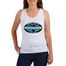 Funny Geocaching Women's Tank Top