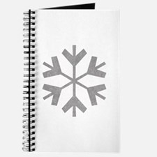 Vintage Snowflake Journal