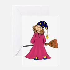 Little Wizard Greeting Card