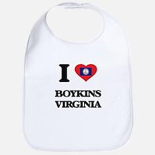I love Boykins Virginia Bib