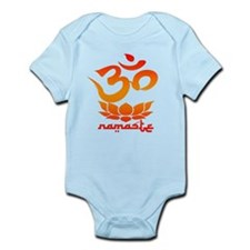 Namaste Symbol (Warm Red Version) Body Suit