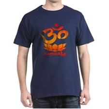 Namaste Symbol (Warm Red Version) T-Shirt