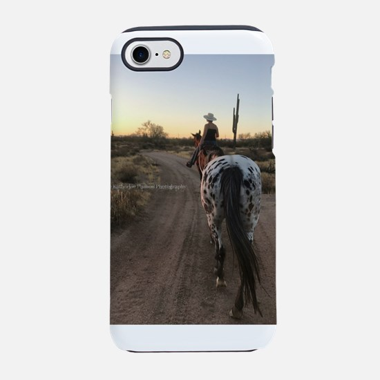 Spotted Sunset3 iPhone 7 Tough Case