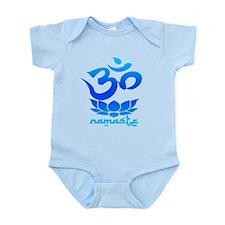 Namaste Symbol (Cool Blue Version) Body Suit