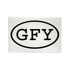 GFY Oval Rectangle Magnet