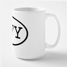 GFY Oval Large Mug
