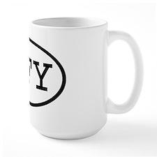 GFY Oval Mug