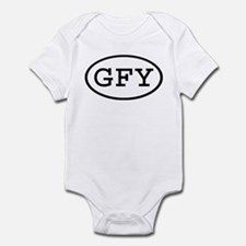 GFY Oval Infant Bodysuit