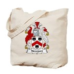 Newport Family Crest Tote Bag