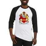 Newmarch Family Crest Baseball Jersey