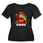 Newmarch Family Crest Women's Plus Size Scoop Neck
