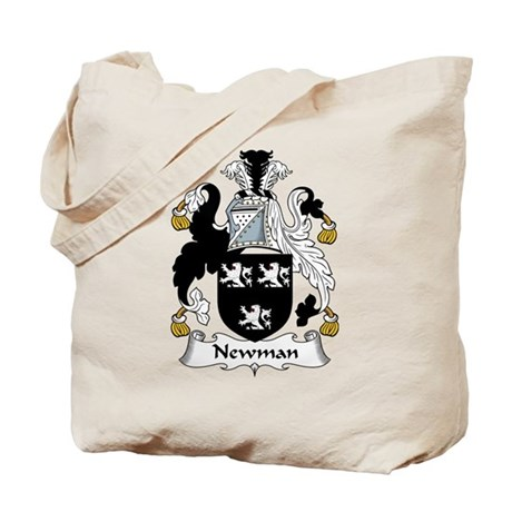 Newman Family Crest Tote Bag