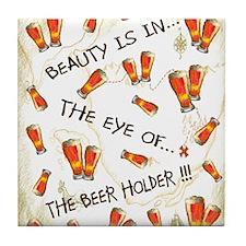 Cool Humorus Tile Coaster