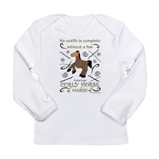 Curly Hairs Outfit Long Sleeve T-Shirt