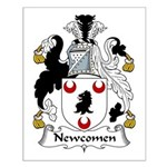 Newcomen Family Crest Small Poster