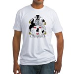 Newcomen Family Crest Fitted T-Shirt