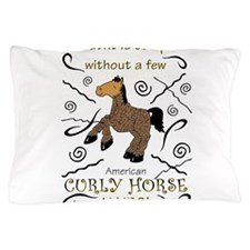 Curly Hairs Outfit Pillow Case